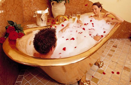Примите ароматическую ванну
