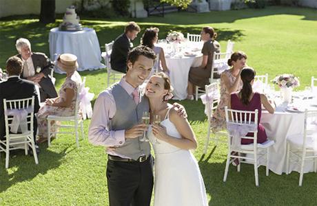Родственники на свадьбе