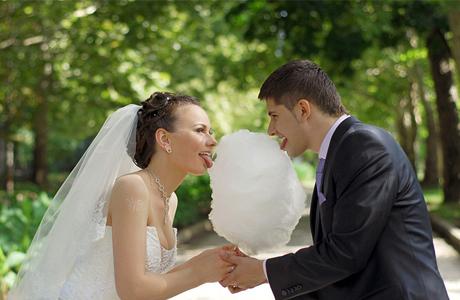 Сахарная свадьба - фото