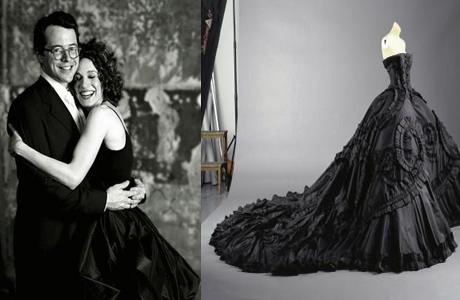 Сара Джессика Паркер в черном платье