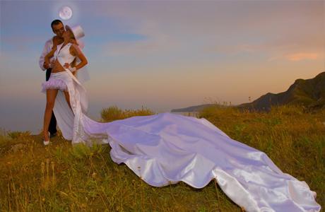 Шотландская свадьба во время роста Луны
