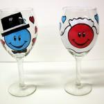 Игривые цветные бокалы - радость для гостей