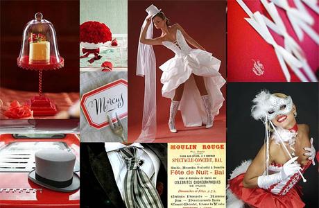 Стиль Moulin Rouge