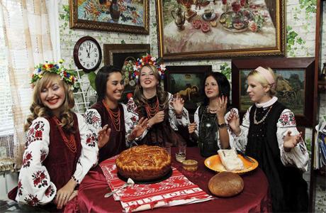 Девичник в украинском стиле