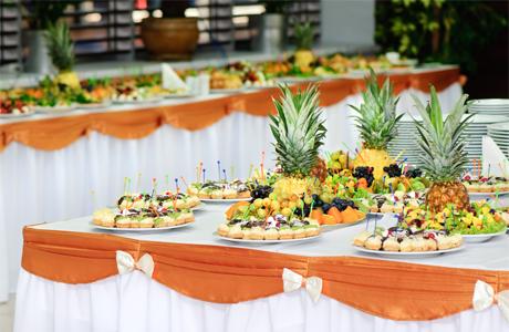 Столы для свадебного фуршета