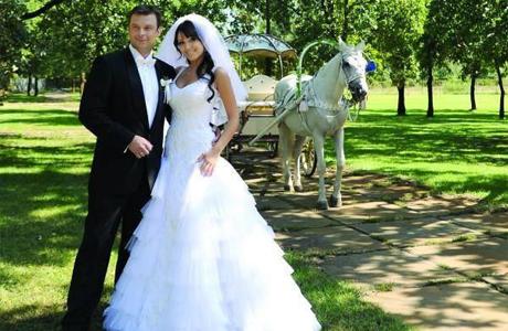 Свадьба Алины Завальской и Александра Колодия