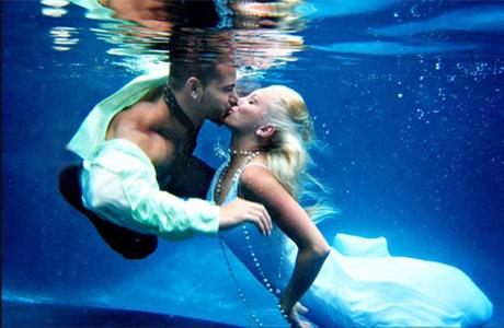 Свадьба на глубине