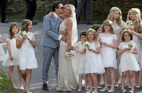 Свадьба Кейт Мосс и Джейми Хинса