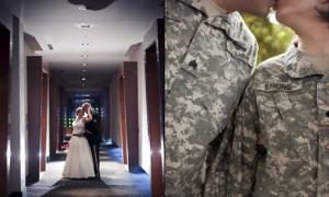 Свадьба в стиле Military