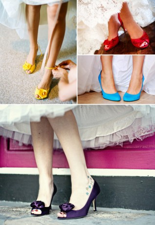 Свадебная обувь невесты обязательно должна подчеркивать ее характер и стиль
