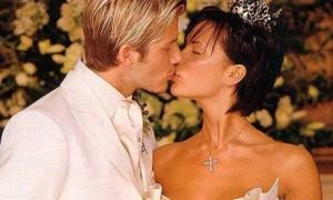 Свадебная прическа Виктории Адамс