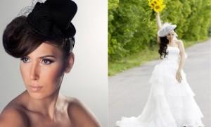 Свадебная шляпка вместо фаты