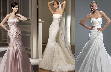 Свадебное платье в стиле русалки