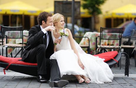 Традиционное и вечное свадебное платье