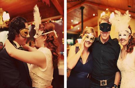 Бал-маскарад на свадьбе