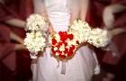 Свадебный букет для свидетельниц