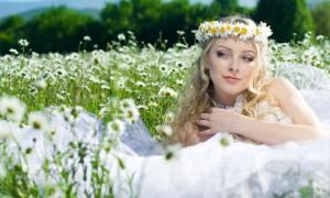 Свадебный образ невесты в стиле natural