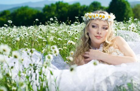 Свадебный образ невесты natural