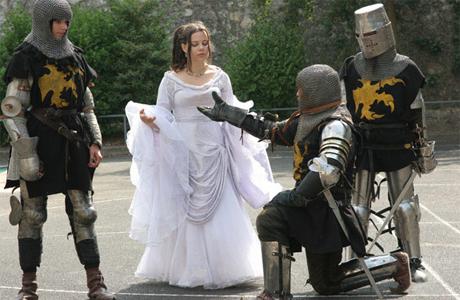 Свадебный сценарий в стиле средних веков