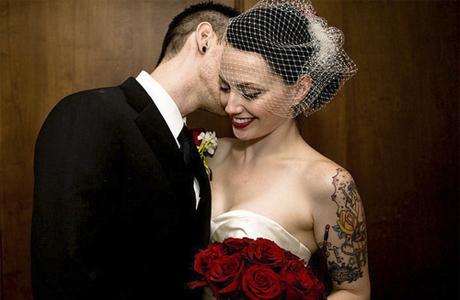 Татуировка невесты - как подчеркнуть