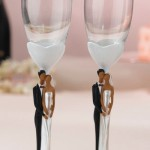 Королевская свадьба с королевскими бокалами
