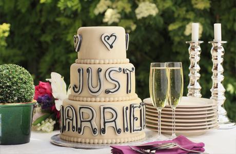 Торт должен соответствовать стилю свадьбы