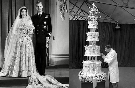 Свадебный торт Королевы Елизаветы II
