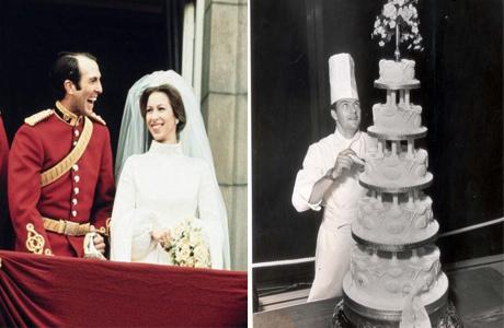 Свадебный торт принцессы Анны и капитана Марка Филлипса