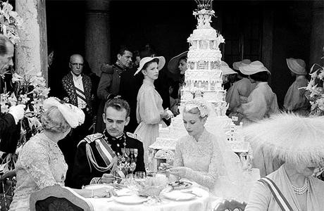 Свадебный торт принцессы Грейс и принца Ренье