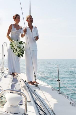 Церемония на яхте - более модно