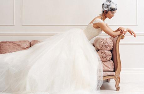 Тюль для свадебного наряда
