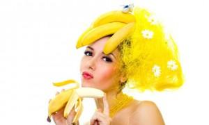 Вкусная банановая маска