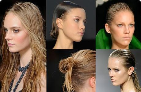 Эффект мокрых волос на свадьбу