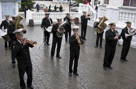 Военный духовой оркестр на твоей свадьбе