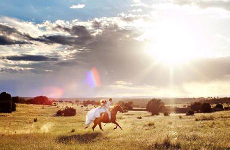 Выездная церемония на лошадях