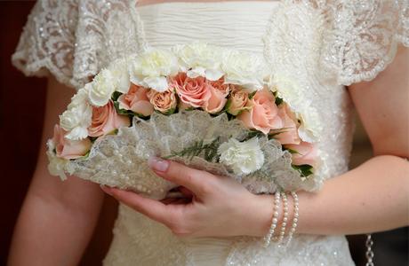 Свадебный букет В Японии