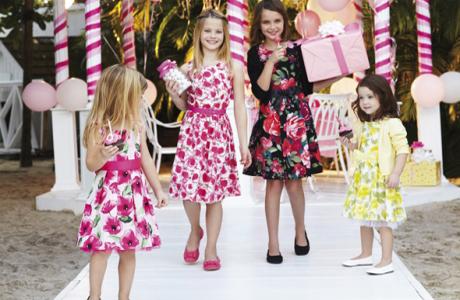 Свадебный наряд для девочки от Андре Тана