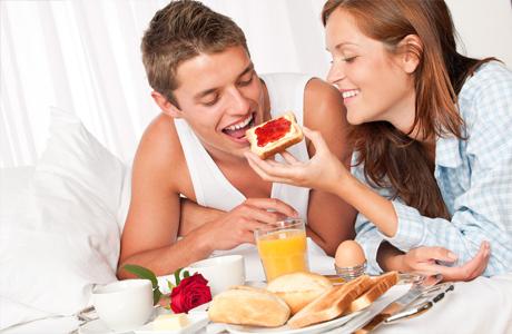 Завтрак в постель уничтожит любые конфликты