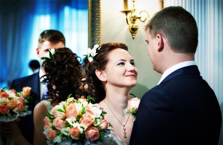 Зеркало после свадьбы