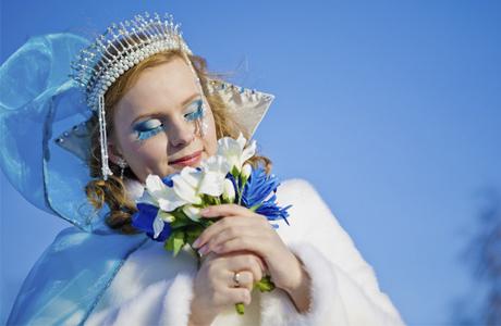Зимняя свадьба - для невесты