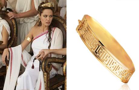 Золотой браслет для греческой богини
