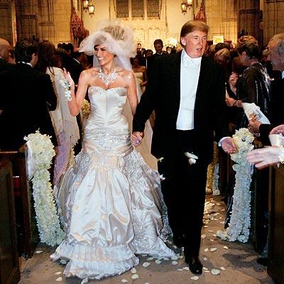 Звездная свадьба Дональда Трампа