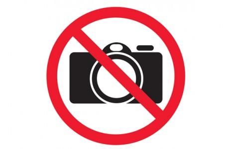 Дело в том, что в некоторых храмах запрещена фотосъёмка