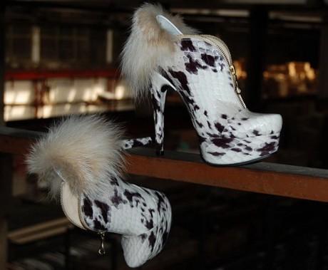 Стильная обувь на свадьбу 2012