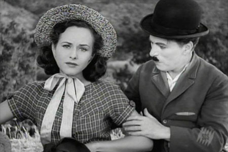 Чарли Чаплин с женой Полетт