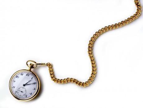 Часы на цепочке для жениха