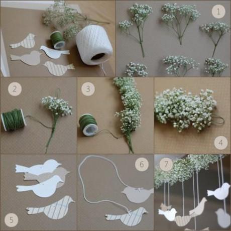 Делаем бумажных голубей