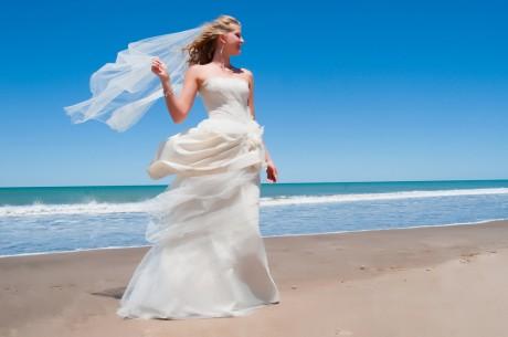 Длина свадебного платья в пол