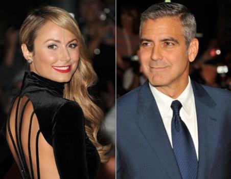 Джордж Клуни и Стейси