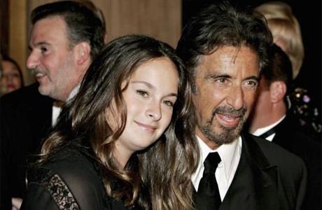 Джулия Мария Пачино с отцом